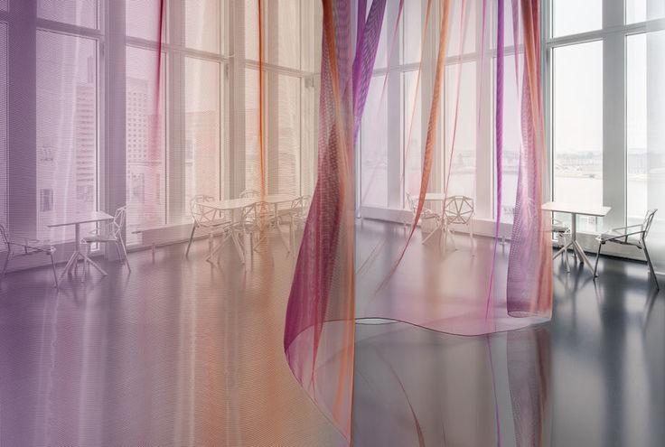 Tecidos para cortinas for Cortinas transparentes