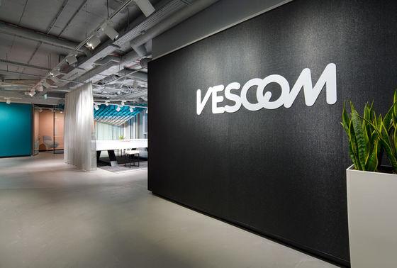 Vescom showroom, Warsaw - Poland