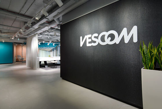 Vescom showroom, Warsaw - Poland