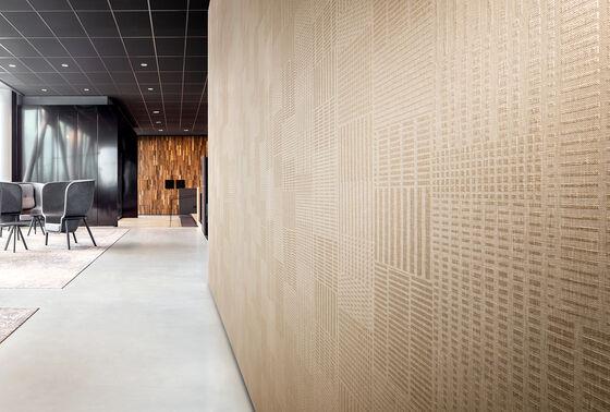 Novo dossier de revestimentos murais têxteis