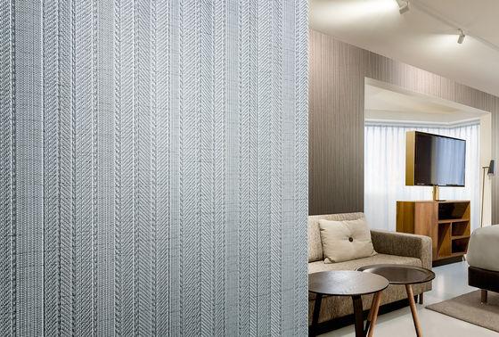 Revestimentos murais vinílicos com aparência luxuosa de tecidos