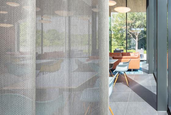 Neue Generation transparenter akustischer Dekorationsstoffe