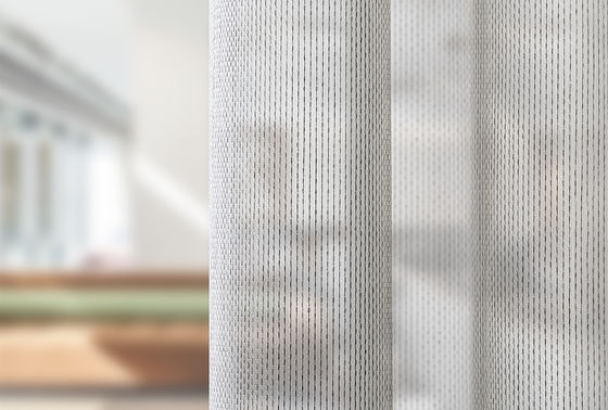 Nova geração de tecidos transparentes para cortinas acústicas