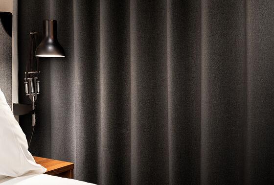 Podwójnej szerokości tkaniny zasłonowe zaciemniające i przyciemniające