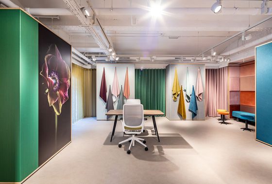 Vescom showroom London - UK