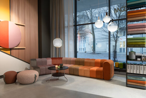 Vescom showroom Stockholm - Sweden