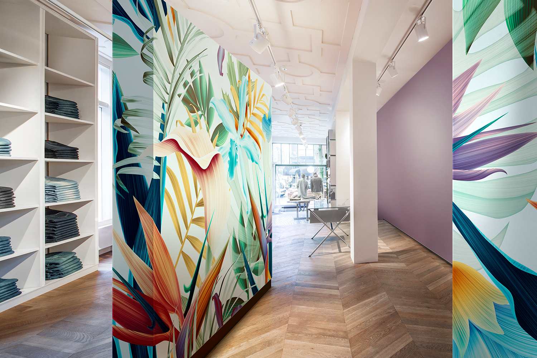 Vescom - digital printed wallcovering