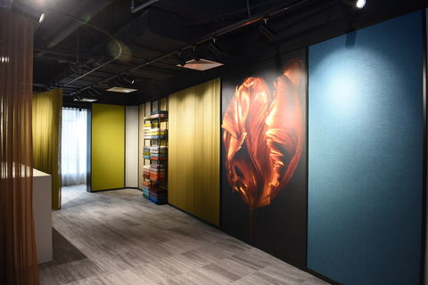 Vescom showroom,Shanghai