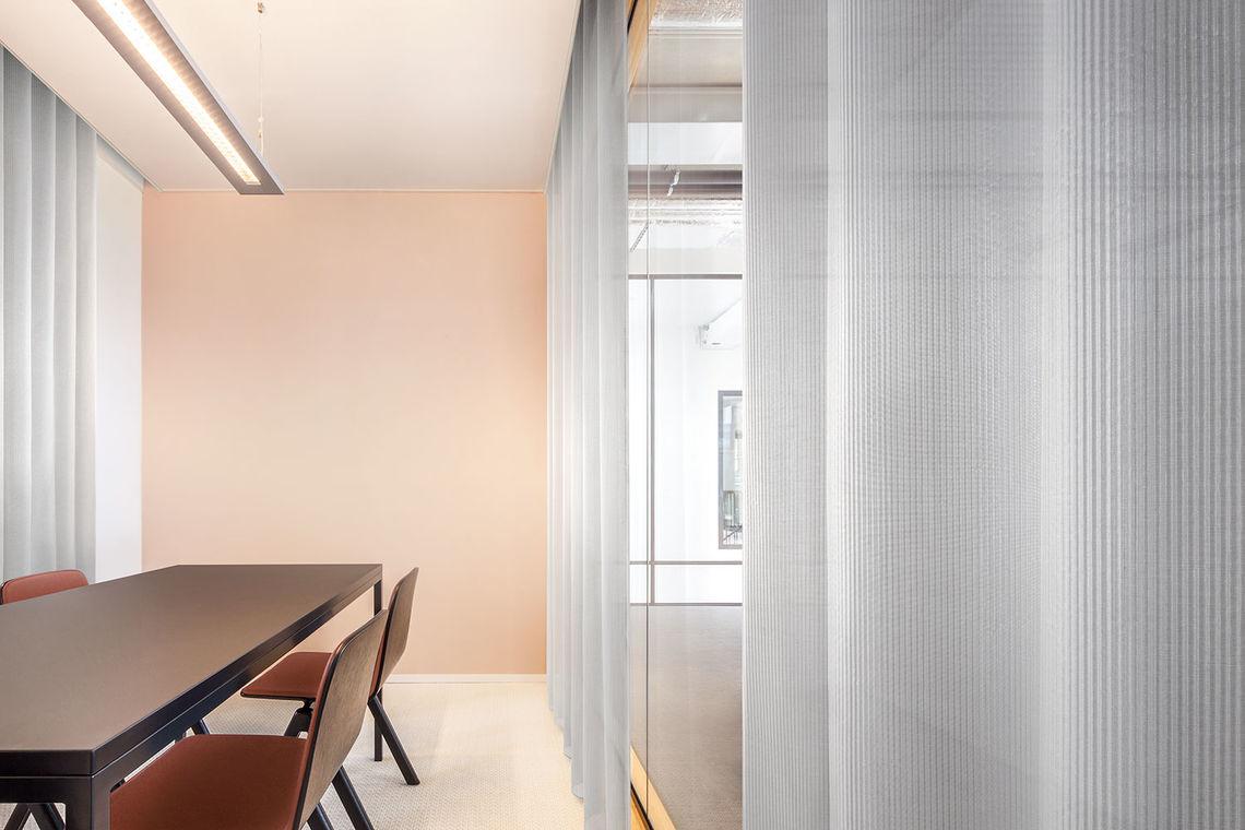 Transparent, Acoustic Curtain Fabrics
