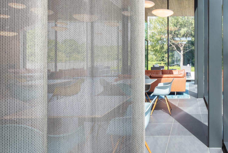 transparant acoustic curtain fabric formoza