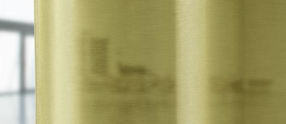 close-up cortina acústica y transparente Marmara