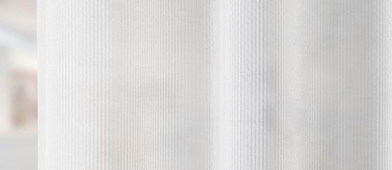 close-up cortina acústica transparante Carmen