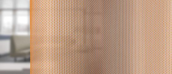 close-up cortina acústica transparante Formoza