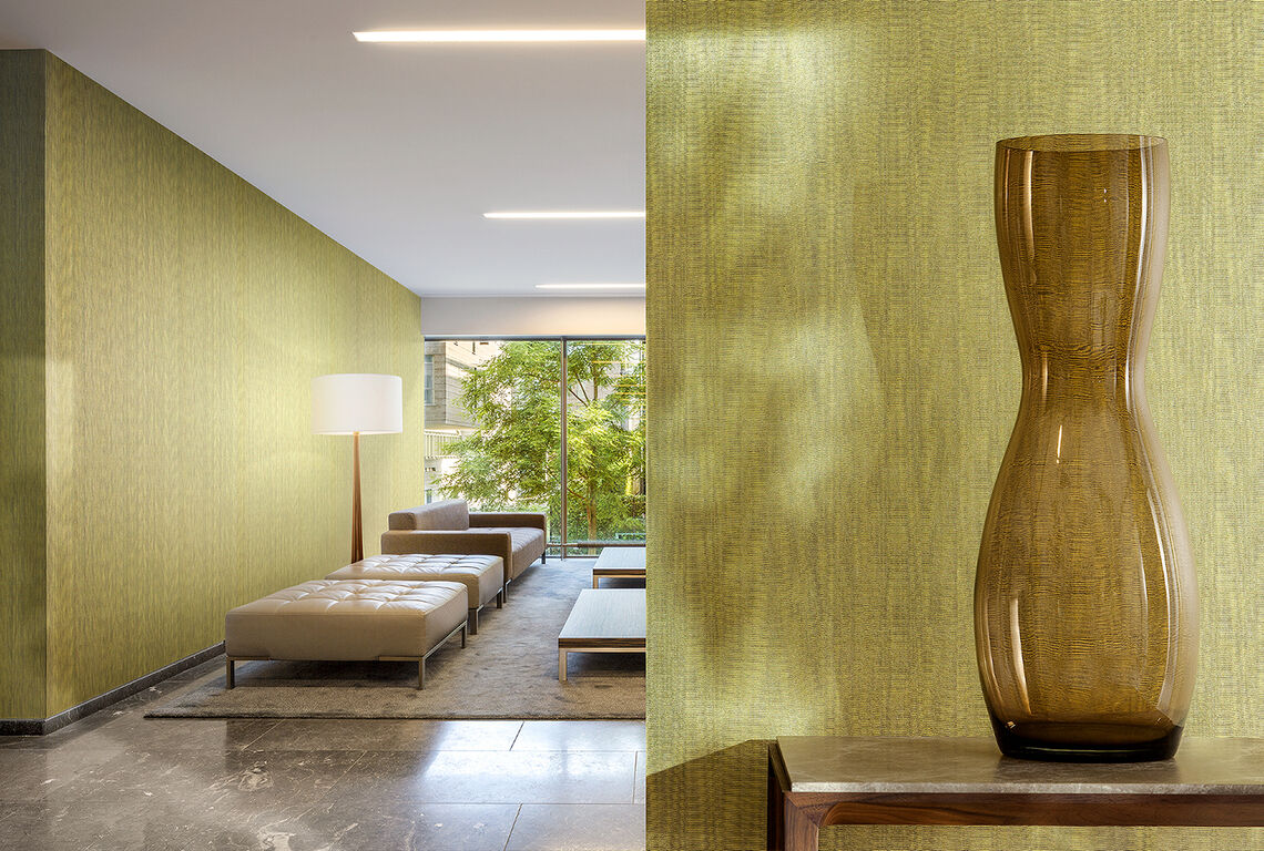 Textile wallcovering design Ogami