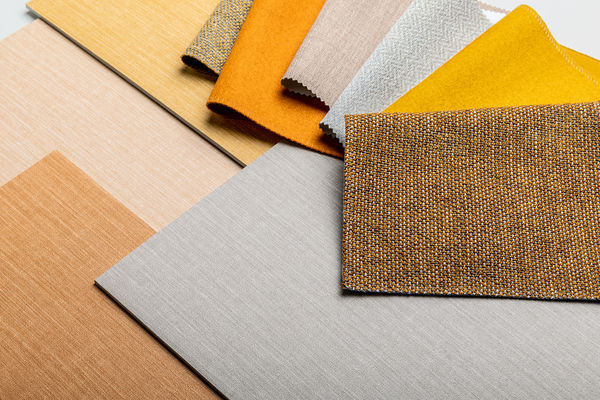 Wallcovering design Lismore in various colours