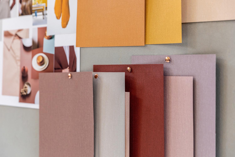 ontwikkeling nieuwe kleurenkaart vinyl wandbekleding Albert