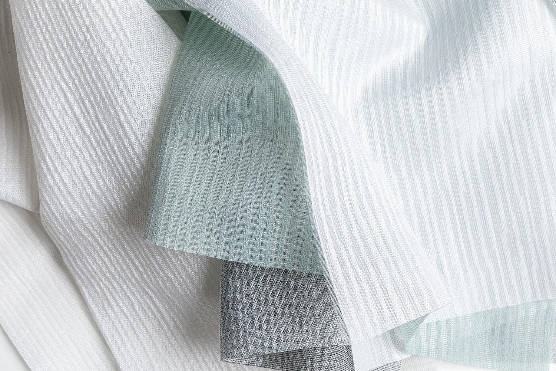 transparant acoustic curtain fabrics Tay & Tinos