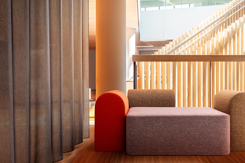 upholstery fabric Dikson & curtain fabric Swan