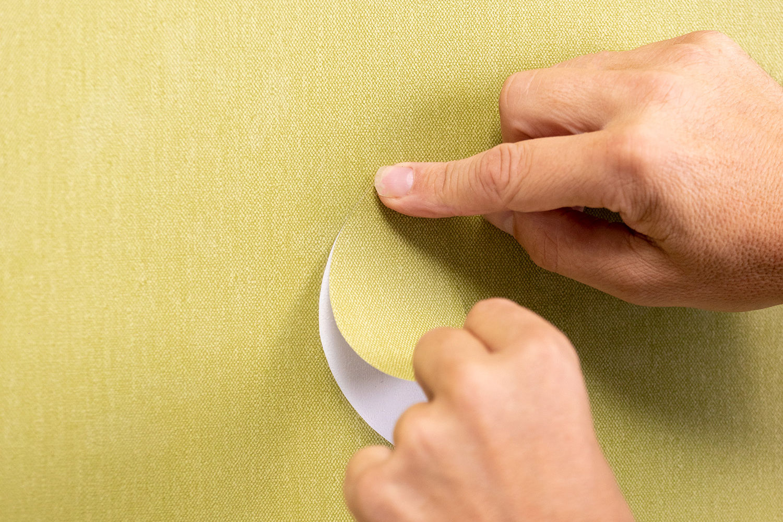 diverse kleuren van vinyl wandbekleding Sagara