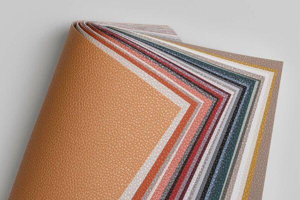 various colour samples vinyl upholstery designs Leone plus
