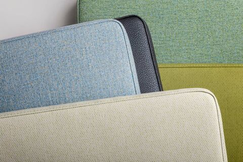 vinyl upholstery cushions
