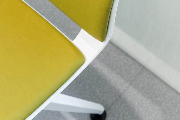 vinyl upholstery design furka plus on office chair
