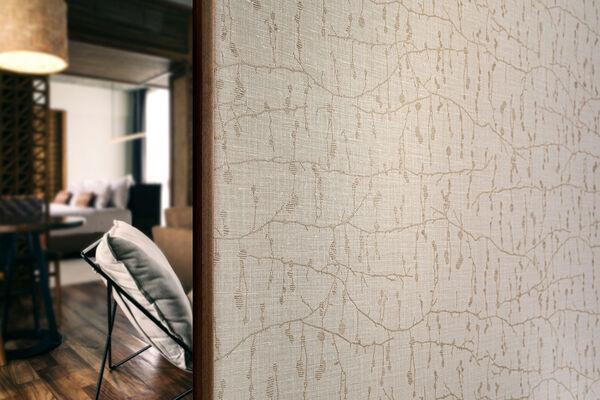 Textile wallcovering design Ivylin