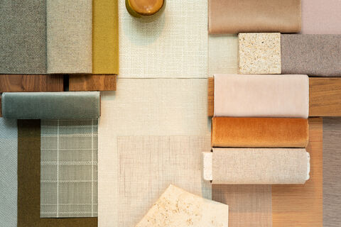 materials for an all-natural interior