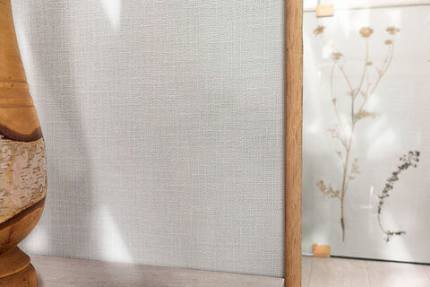 neutrale kleuren uit de collectie linnen wandbekleding