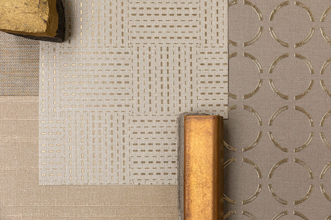 textile wallcovering examples