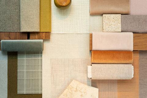 materiais para um interior totalmente natural