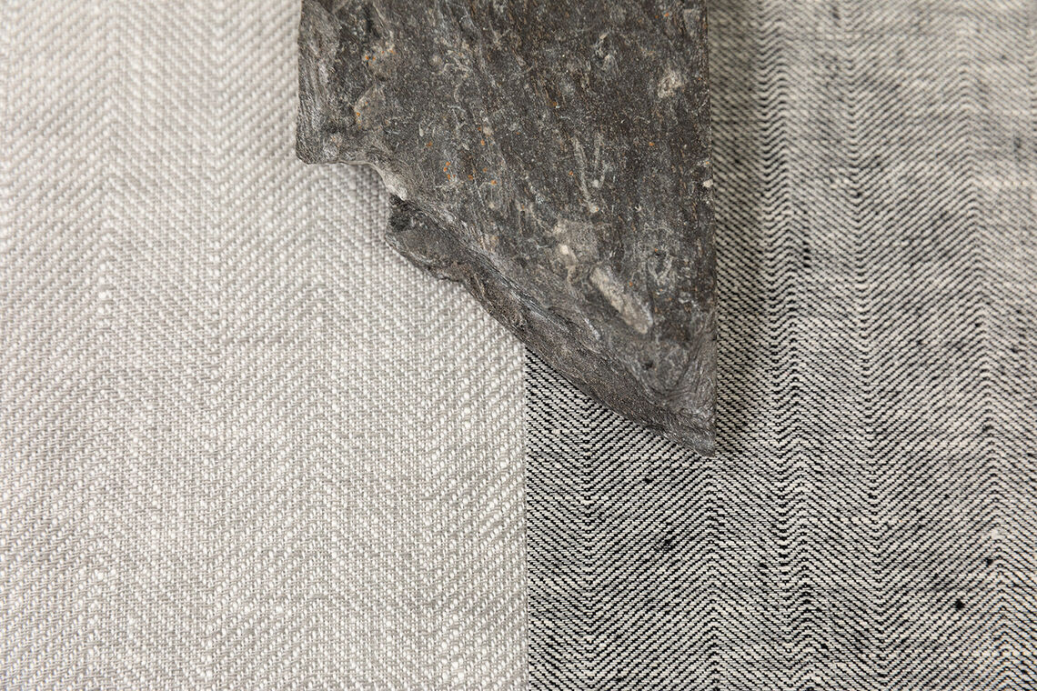 close up textile wallcovering designs with heringbone structure