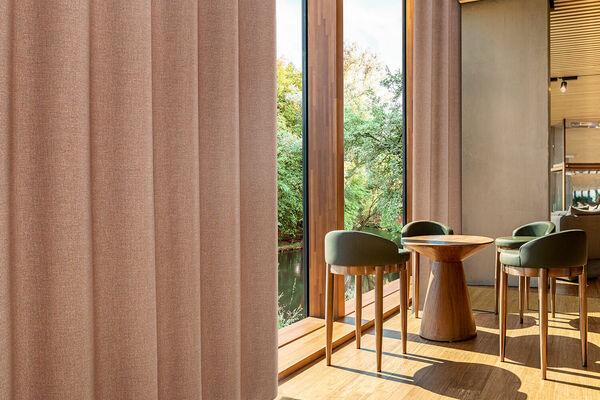 Linen-inspired curtain 'Ellis'