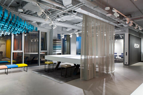 Vescom showroom Warsaw