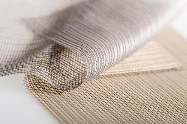 Close up transparent fabrics