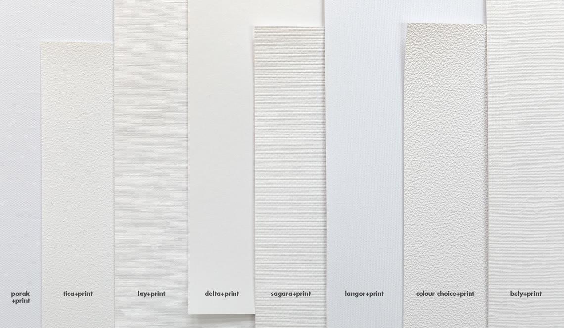 8 surfaces structurées différentes