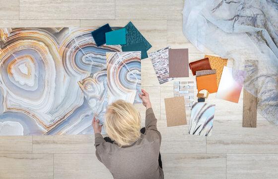development of customized wallcovering